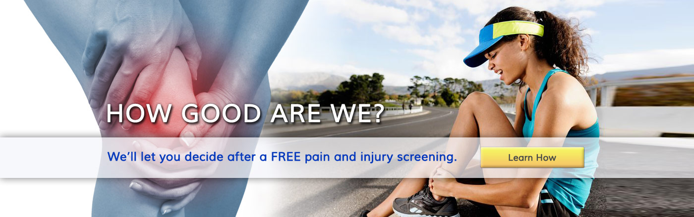 Free Pain Injury Screening